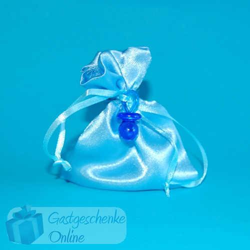Gastgeschenke Organza Taufe//Geburt hellblau oder rosa